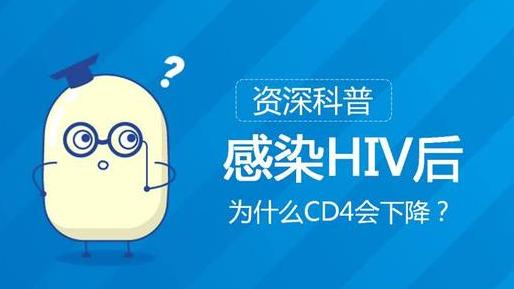HIV感染者非常在意CD4+T细胞的上升和下降