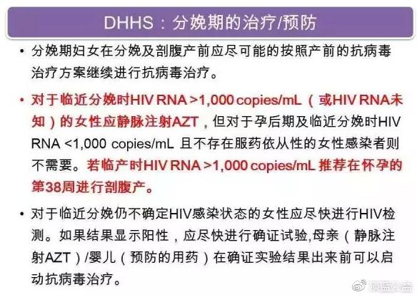DHHS:分娩期的治疗-预防