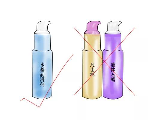 10  安全套只能使用水基润滑剂。凡士林、液体石蜡等均会增加安全套破裂的风险。