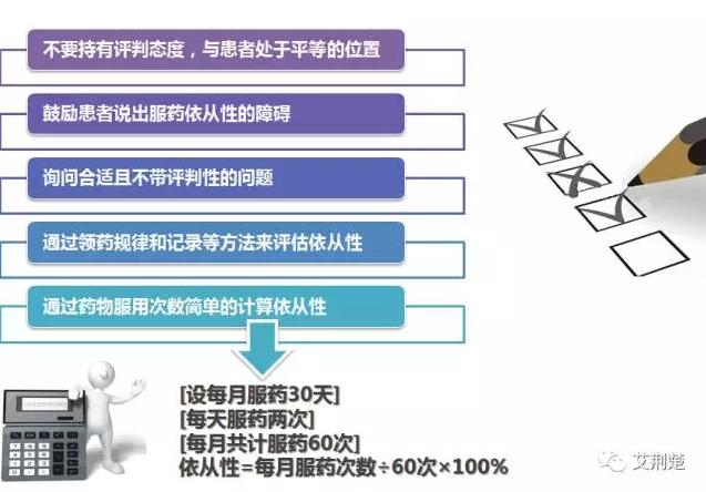 4、治疗期间如何评估依从性
