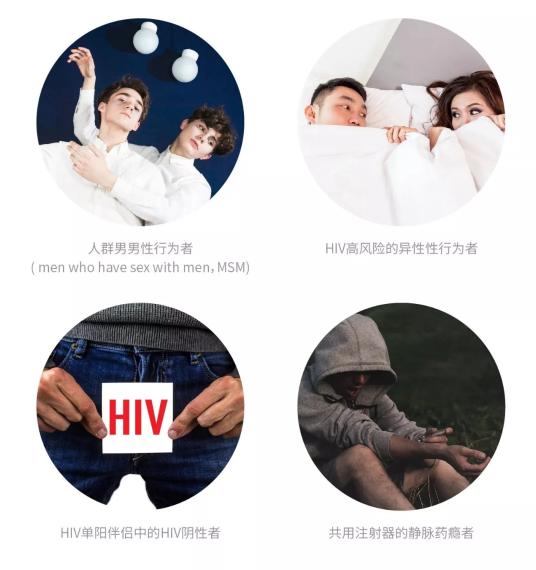 暴露前预防针对的是可能反复暴露于HIV感染风险的HIV阴性人群