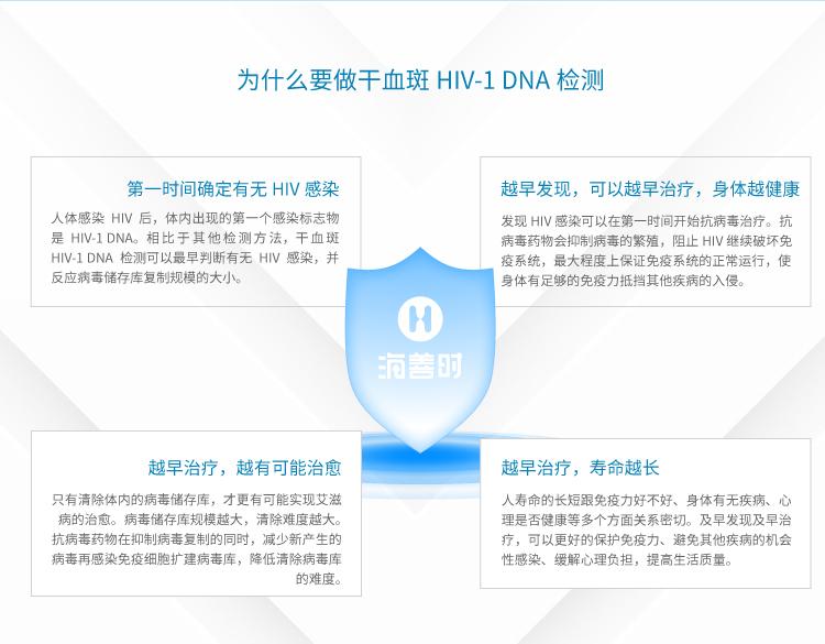 为什么要做干血斑HIV-1 DNA 检测?