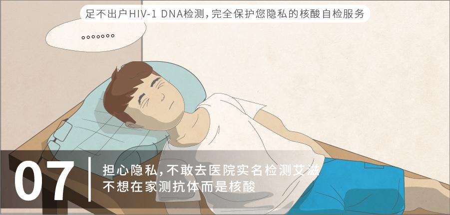 07 担心隐私,不敢去医院实名检测艾滋,不想在家测抗体而是核酸