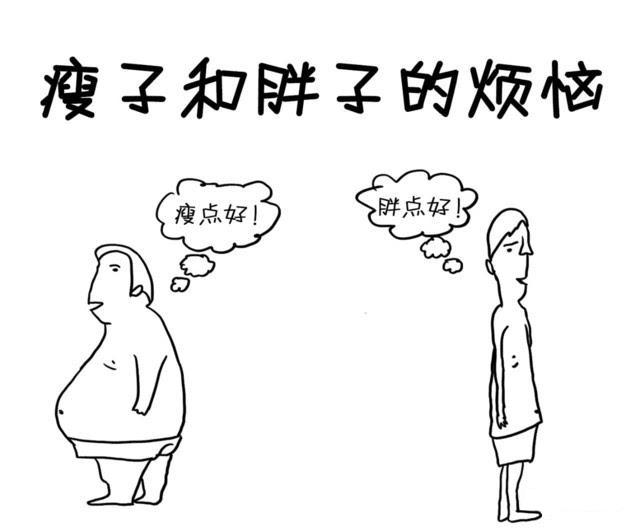 瘦子和胖子的烦恼