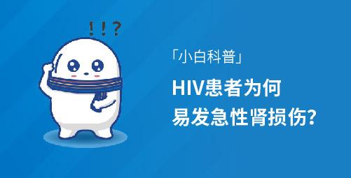 「小白科普」HIV患者为何易发急性肾损伤?