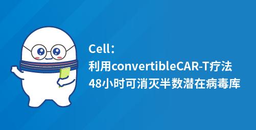 Cell:利用convertibleCAR-T疗法48小时可消灭半数潜在病毒库