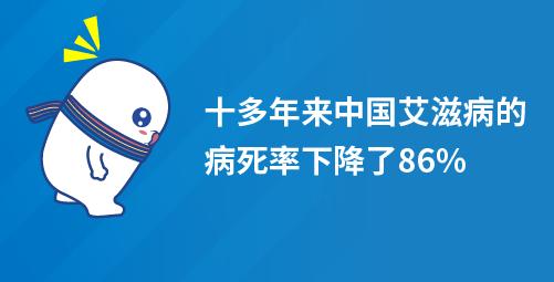 中国艾滋病人多吗_「寻根问底」十多年来,中国艾滋病的病死率下降了86%