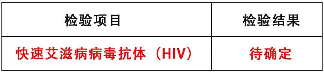 刘明手中的化验单