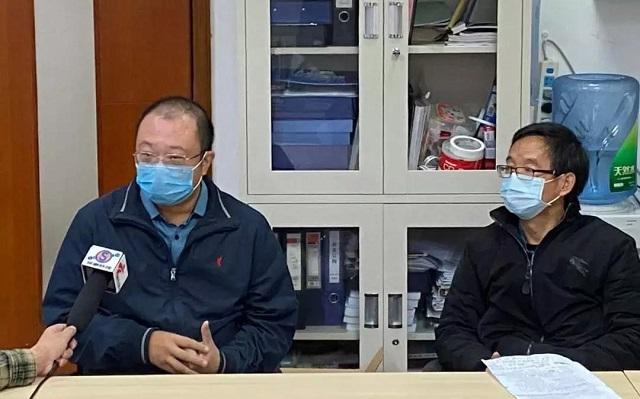 王通教授和朱托夫教授接受媒体采访