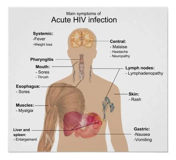 其中 90% 以上的 HIV 感染者在病程的不同阶段都会出现皮肤或黏膜异常。