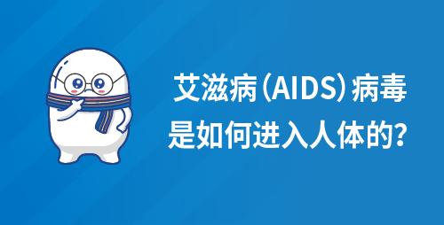 艾滋病(AIDS)病毒是如何进入人体的?
